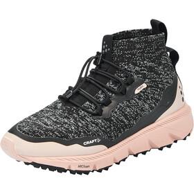 Craft Nordic Fuseknit Hydro Mid-Cut Schuhe Damen black melange/hint